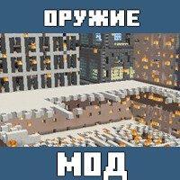 Мод на Ядерное оружие для Майнкрафт ПЕ