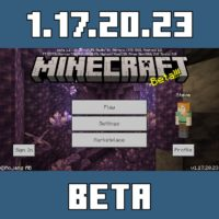 Minecraft PE 1.17.20.23
