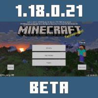 Minecraft PE 1.18.0.21